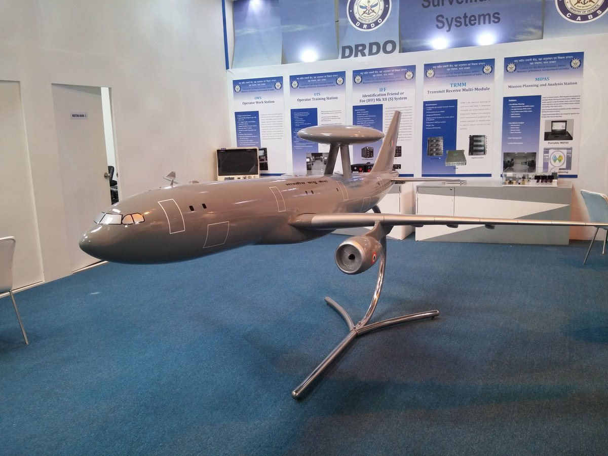 Indian Air Force Plans to Develop Airbus A320 AWACS Aircraft