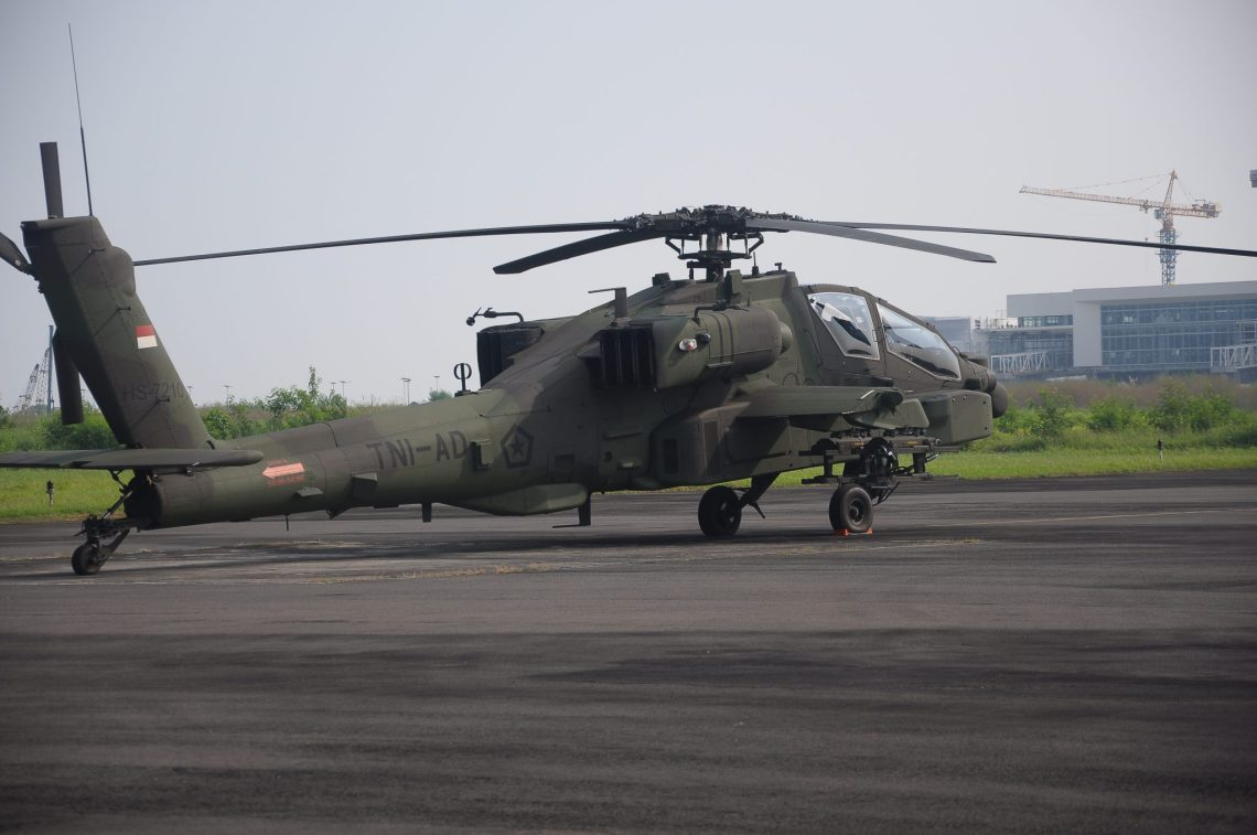 Indonesian Army AH-64E Apache Guardian Attack Helicopters