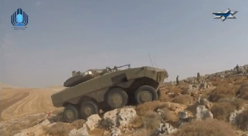 "Israeli Ministry of Defense Unveils New 8X8 Infantry Fighting Vehicle Variant ""Eitan"""