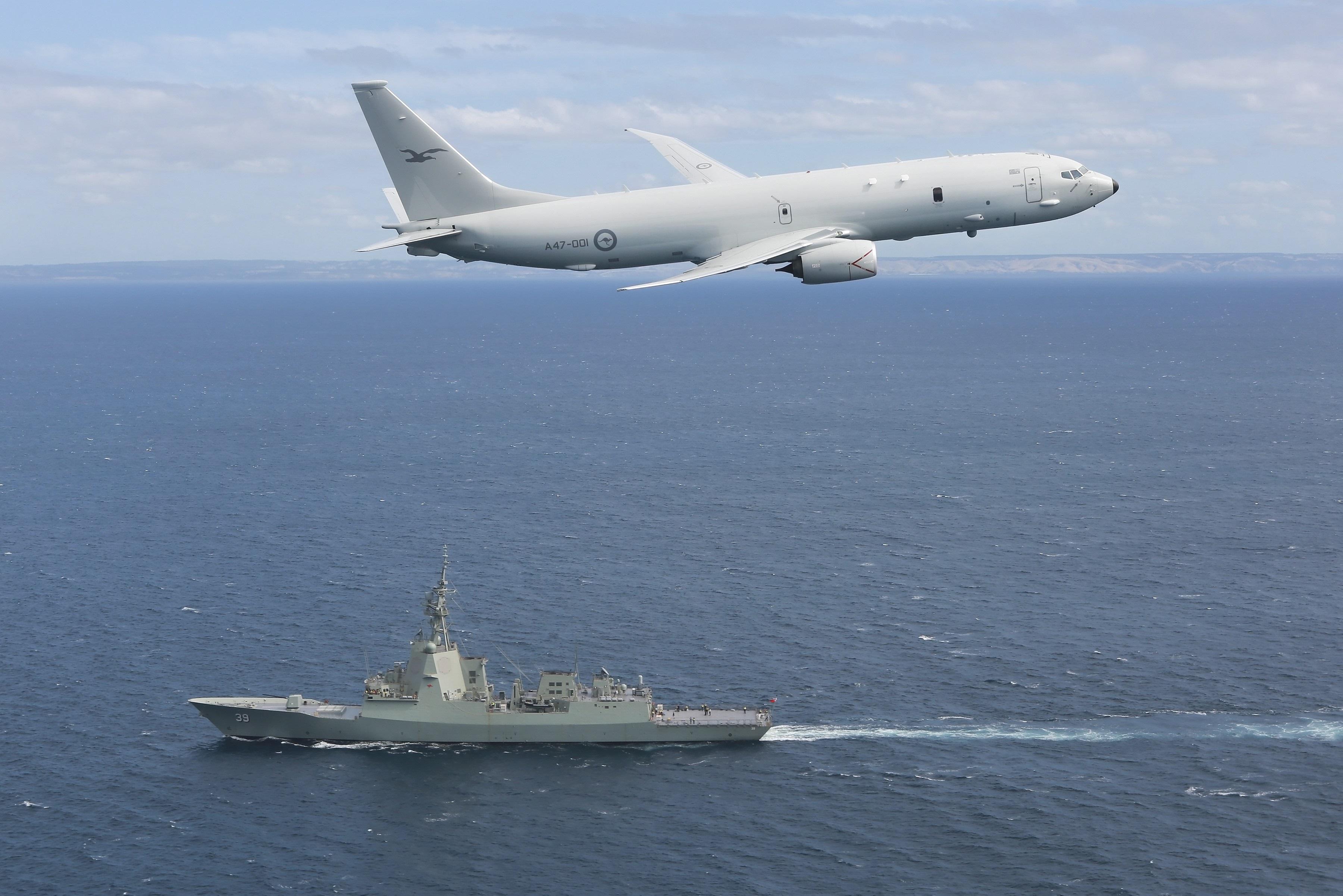 Royal Australian Air Force Boeing P-8A Poseidon Maritime Patrol Aircraft