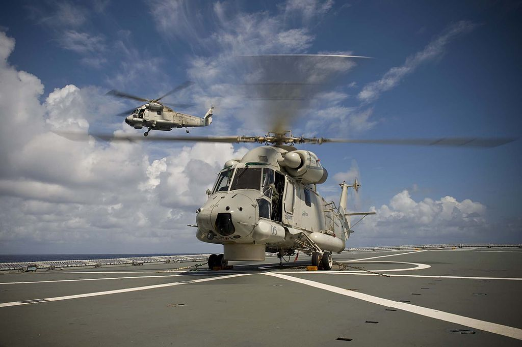 Royal New Zealand Air Force No. 6 Squadron SH-2G(I) Seasprite Helicopter