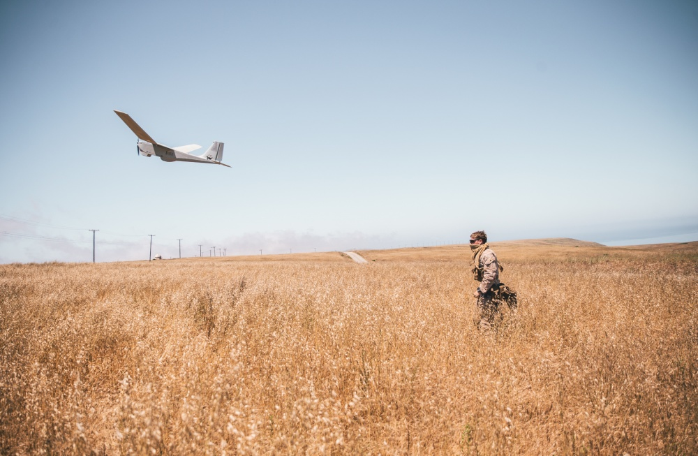 RQ-20 is a small, battery powered, hand launched, unmanned aircraft system designed for surveillance and intelligence gathering missions.