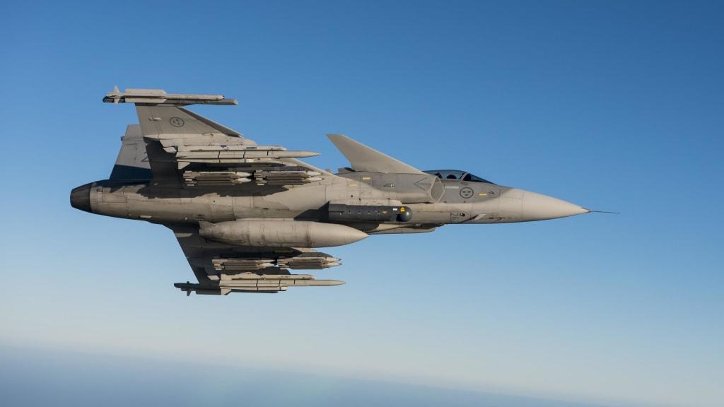 Swedish Air Force Gripen C/D Jet Fighter