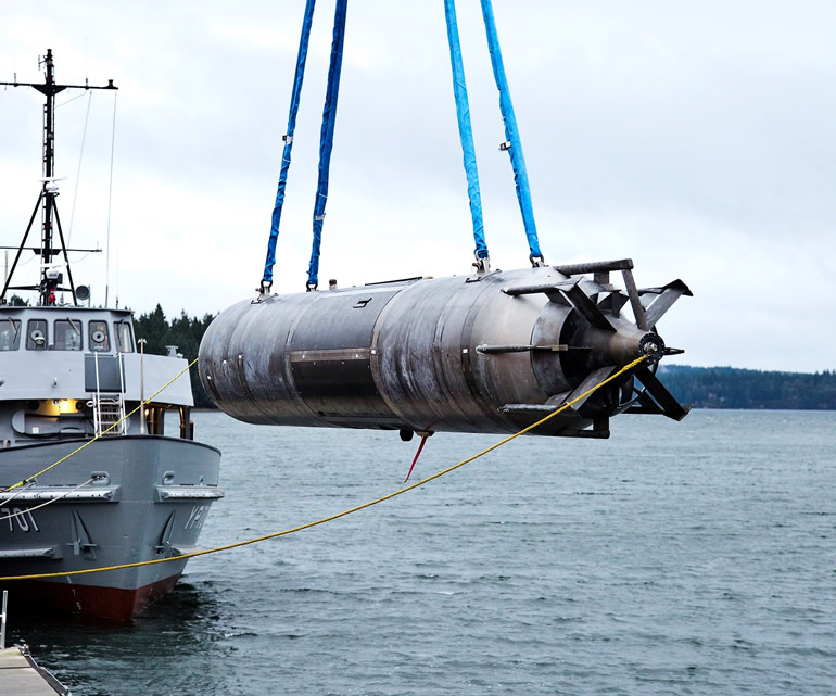 US Navy Issues RFP for Snakehead Large Displacement Unmanned Undersea Vehicle (LDUUV)