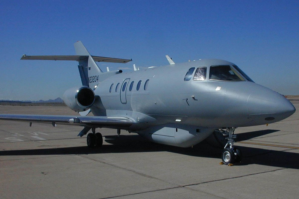 U-125 Peace Krypton (Hawker 800XP)