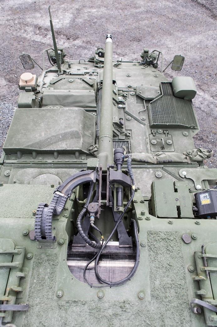 Northrop Grumman to supply XM813 Bushmaster® Chain Guns® for U.S. Army Strykers