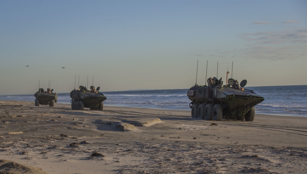 U.S. Marine Corps Amphibious Combat Vehicle (ACV)