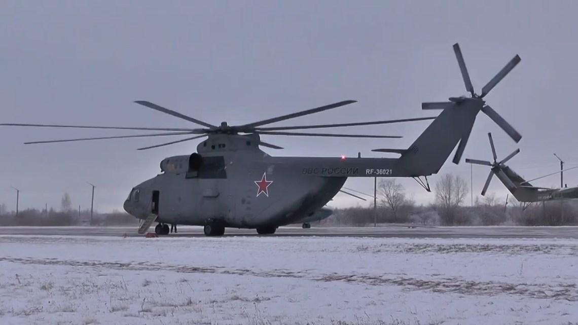 Urals Army Aviation Brigade Mi-26 Heavy Transport Helicopter