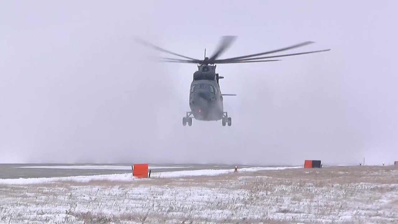 Urals Army Aviation Brigade Hosts Joint Airborne Exercise with New Mi-26 Heavy Transport Helicopter