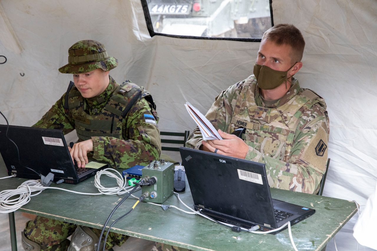 US and Estonia Conduct Joint Defensive Cyber Operation