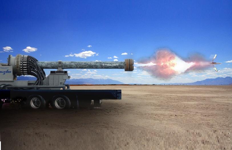 GA-EMS Railgun Weapon Systems