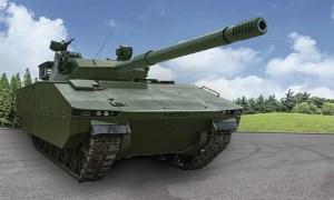 Sabrah Light Tank (General Dynamics European Land Systems Santa ASCOD))