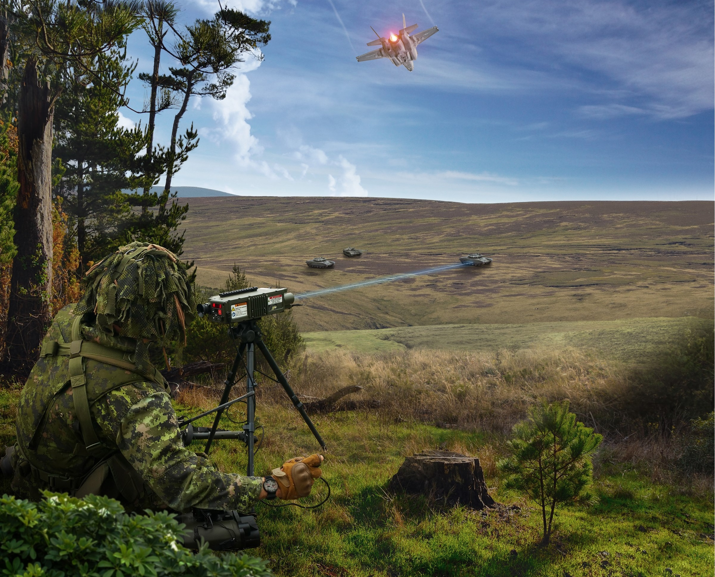 Leonardo Awarded Contract to Supply Slovenian Armed Forces with Type 163 Laser Target Designator