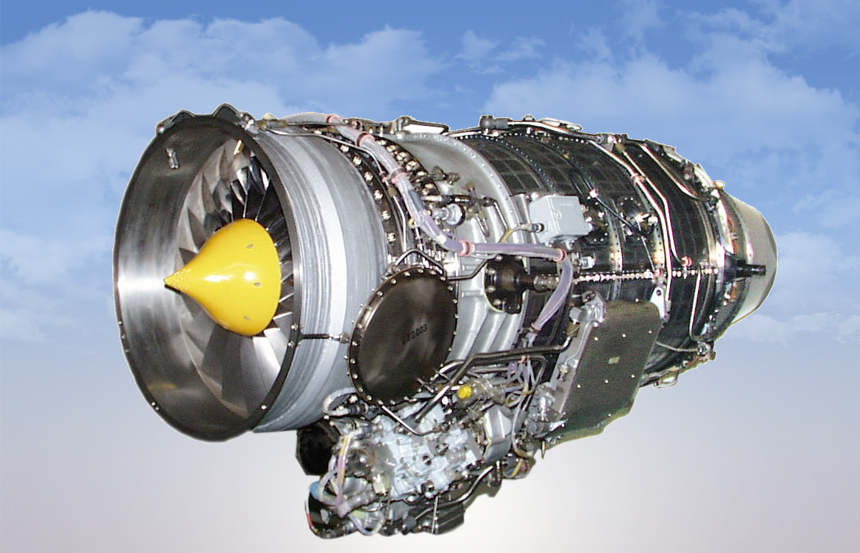 AI-322 low-bypass turbofan engines