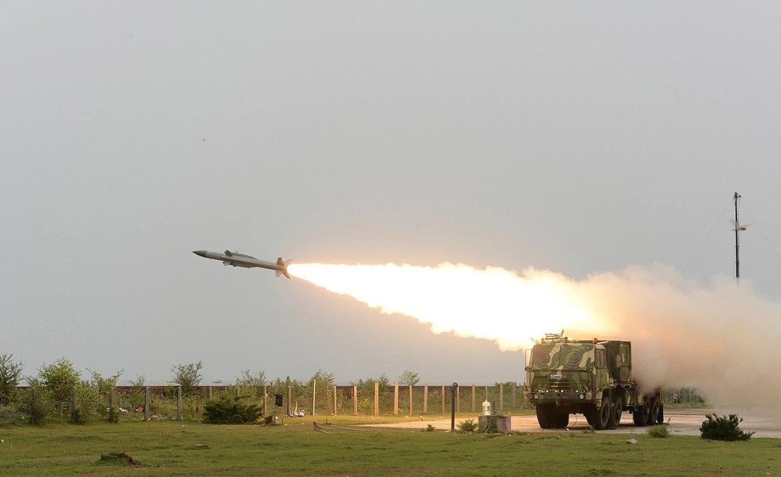 Akash Medium-range Mobile Surface-to-air Missile Defense