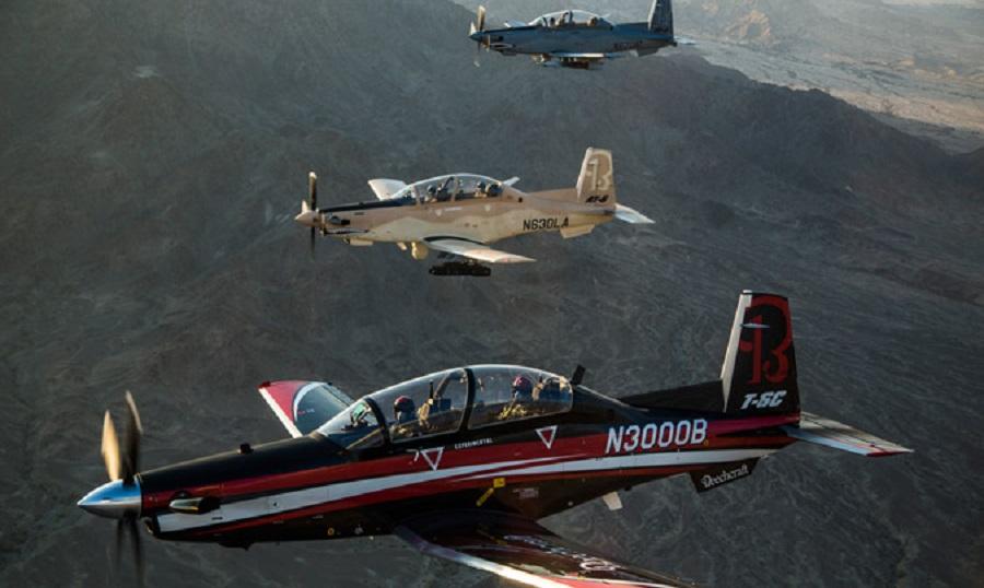 Beechcraft T-6C Texan II Trainer Aircraft