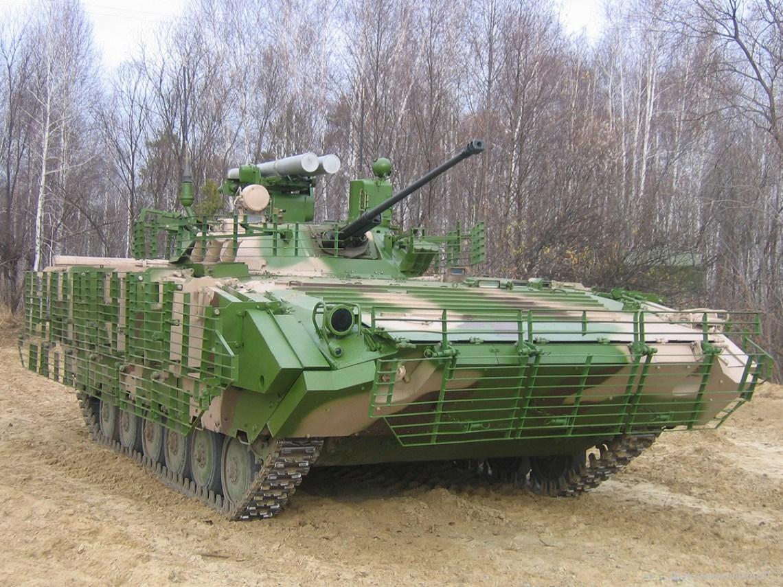 BMP-2M (sb4-3) infantry fighting vehicle