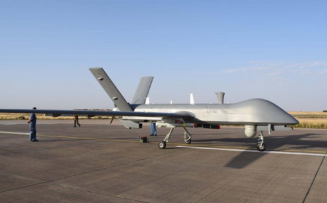 CASC CH-4 Rainbow unmanned combat aerial vehicles (UCAVs)
