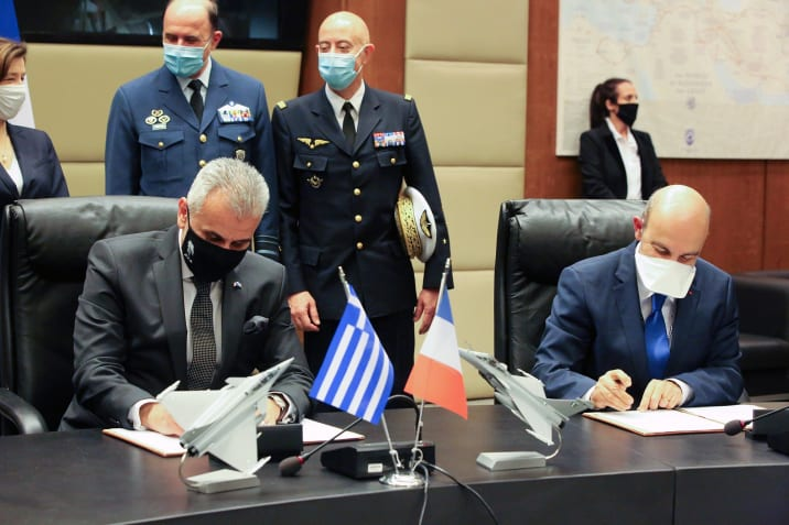 Greece equips itself with the RAFALE in the continuity of a partnership with DASSAULT AVIATION