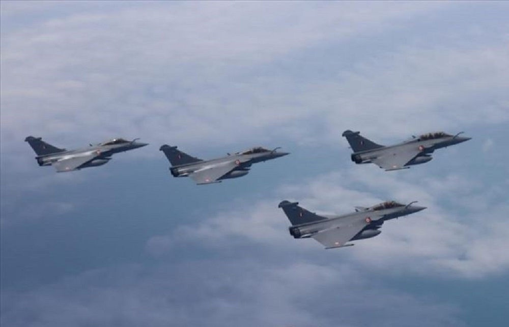 Indian and French Dassault Rafales Together to Undertake First Ever Bilateral Air Exercise