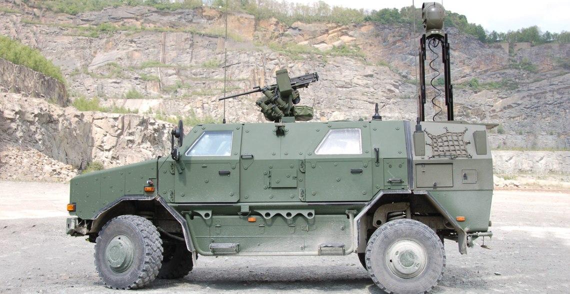 Krauss-Maffei Wegmann Dingo 2 Reconnaissance Vehicle (Optical)