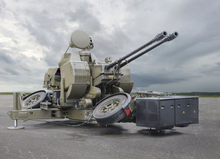 Rheinmetall Oerlikon Twin Gun GDF009 TREO