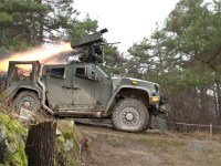 Rafael's SPIKE LR Missile Successfully Fired from Slovenian Armed Forces Oshkosh JLTV