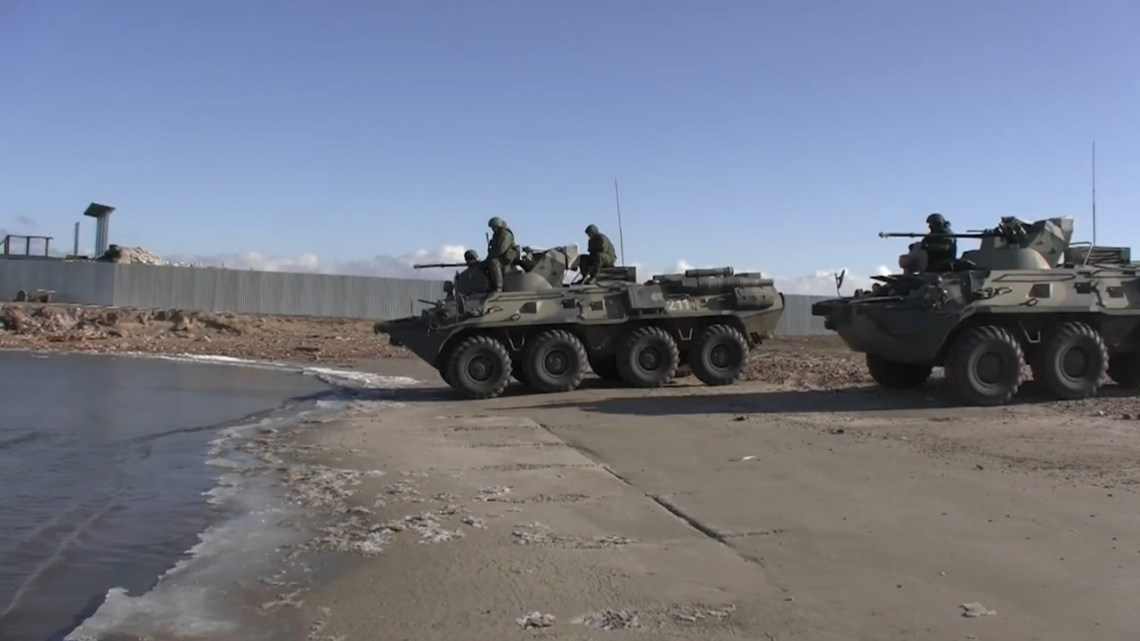 Russian Naval Infantry to Conduct Amphibious Exercise at Scorpion Training Complex