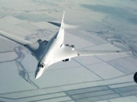 Russian Tu-160 Practice Mid-Air Refueling Over Volga Region