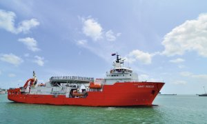 Republic of Singapore Navy MV Swift Rescue submarine support and rescue vessel (SSRV)
