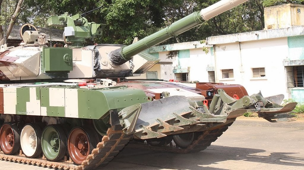 The Indian Army Arjun Mk1 Main Battle Tank