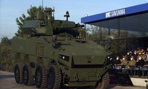 Turkish Company BMC Unveils New ZMA 8x8 Armored Vehicle