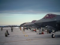 US Air National Guard 158th Fighter Wing F-35 Stealth Fighters Departs for Training in Florida