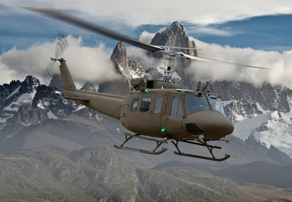 Bell Huey UH-1H-II Utility Helicopter