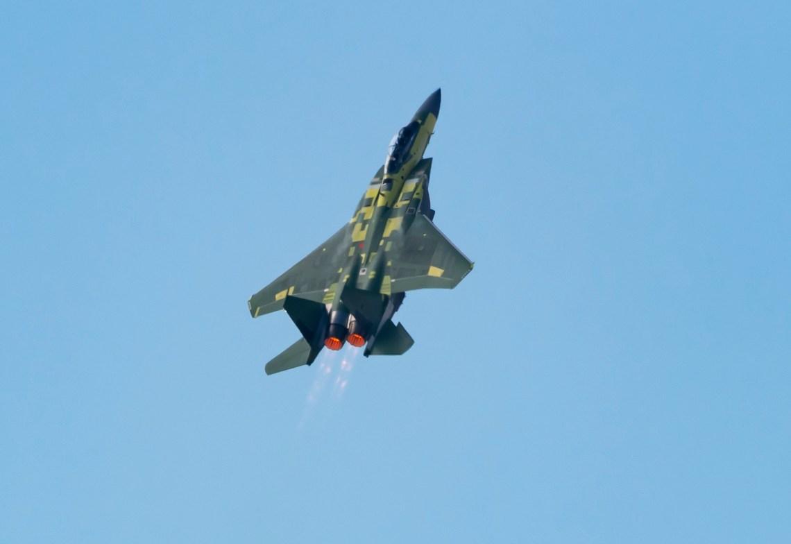 Boeing F-15EX Fighter Jet