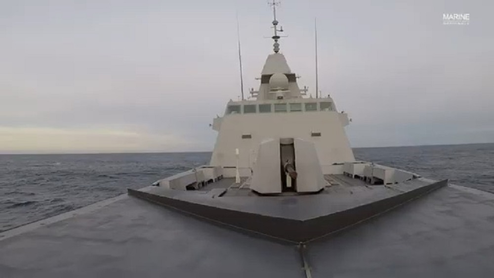 French Frigate Normandie Fires Aster 30 Off the Coast of DGA Site in Biscarosse, France