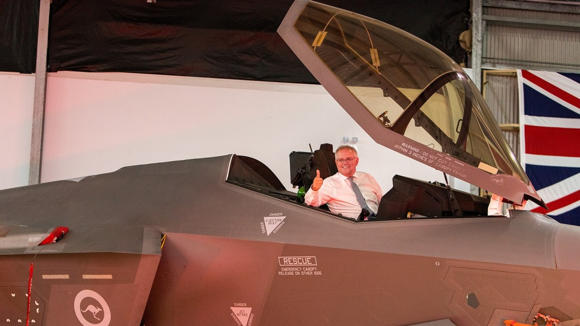 First Fifth Generation F-35 Joint Strike Fighter Welcomed to BAE Systems Australia