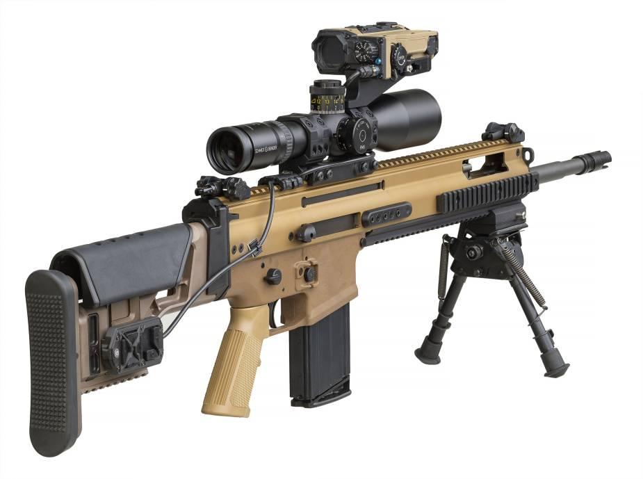 FN Elity Weapon Mounted Ballistic Calculator