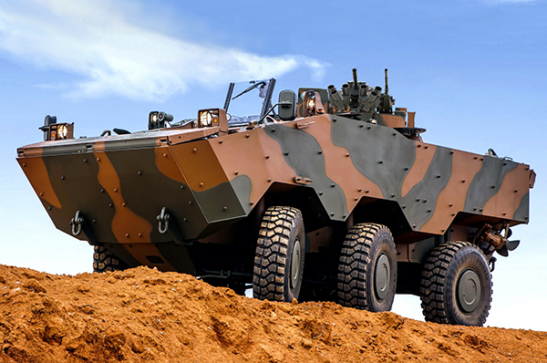 Iveco Defense Vehicles VBTP-MR Guarani 6X6 APC