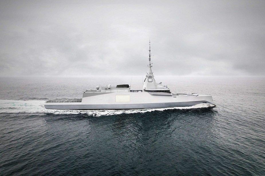 Naval Group Belharra Intervention Frigates