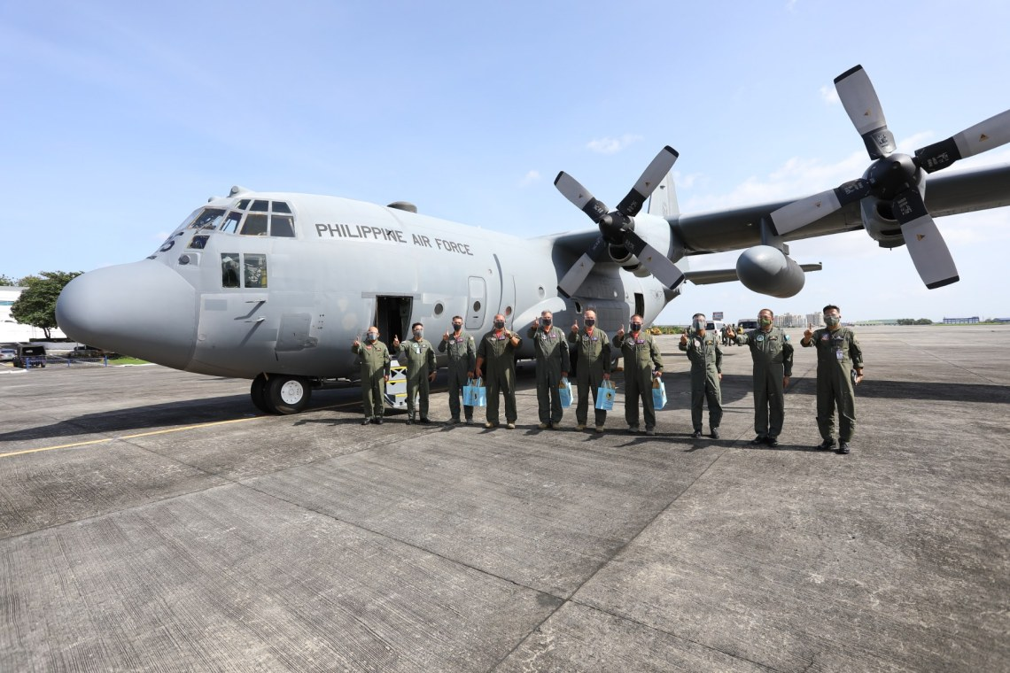 Philippine Air Force Gets Additional C-130H Hercules Transport Aircraft from US