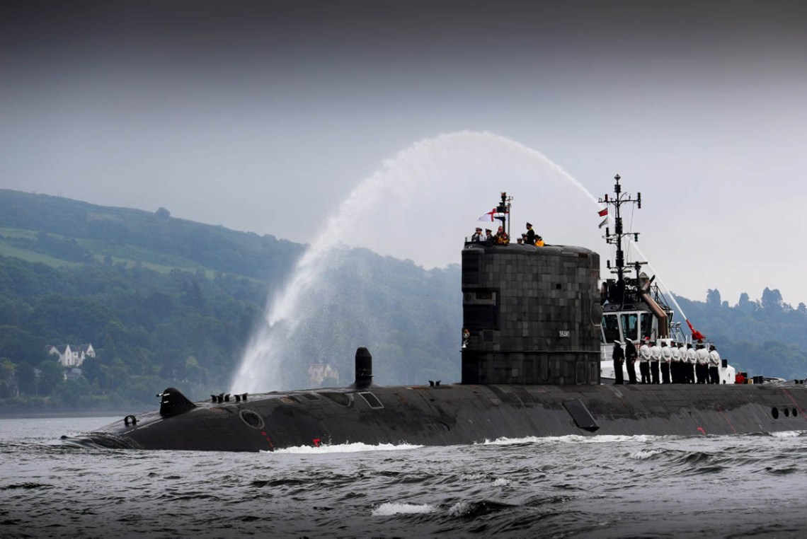 Royal Navy Submarine HMS Talent