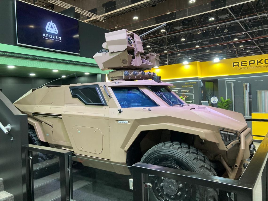 French Defense Company Arquus Unveiles Scarabee Reconnaissance Vehicle