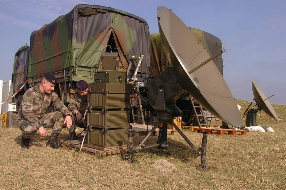 Syracuse satellite communication system