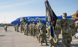 1-102nd leaves for Fort Bliss for mobilization training