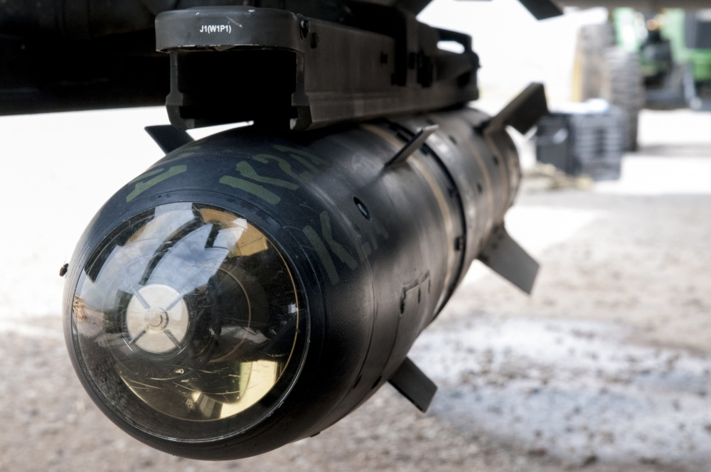The  AGM-114 Hellfire is an air-to-surface missile originally intended for anti-armor use, but later expanded for other precision-strike missions.