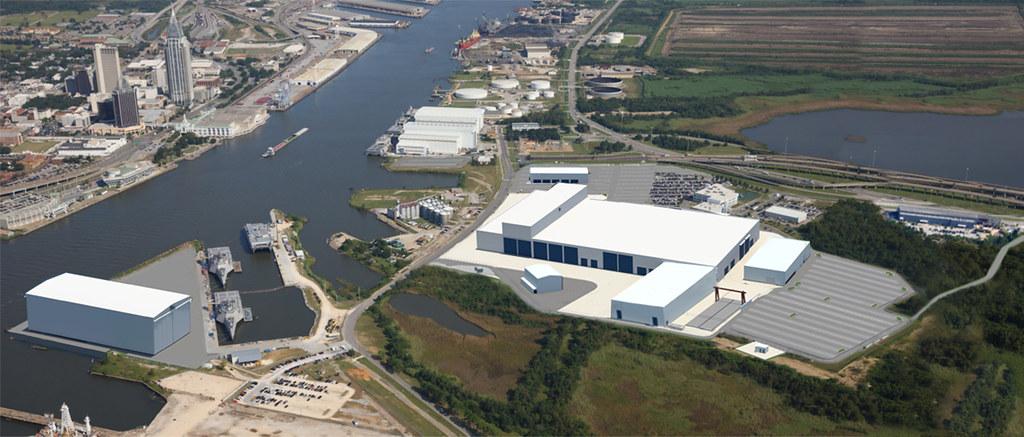 Austal USA Breaks Ground on New Steel Shipbuilding Facility in Mobile, Alabama