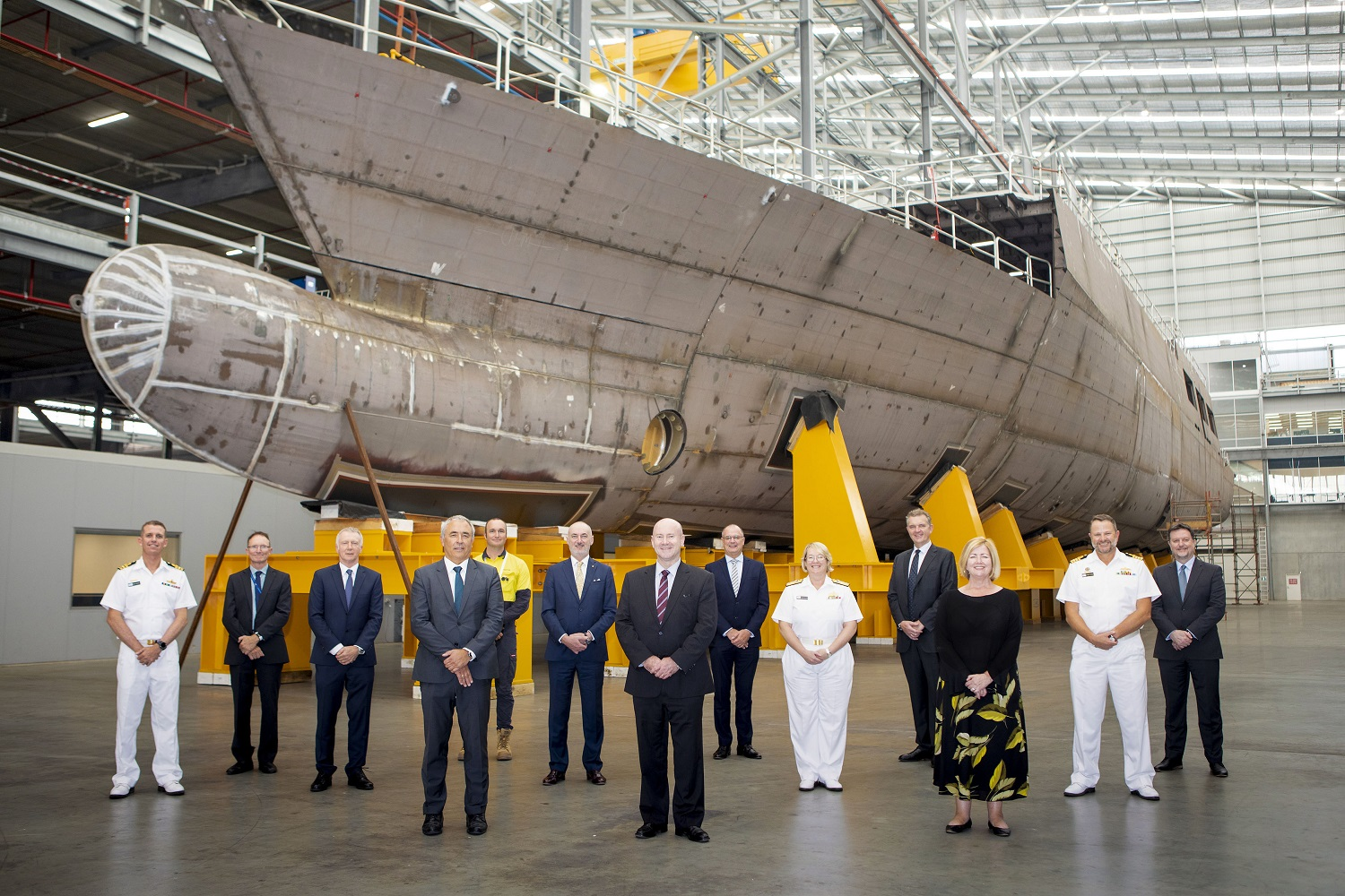 Australian Department of Defence Officially Launches Arafura-class Offshore Patrol Vessel Enterprise