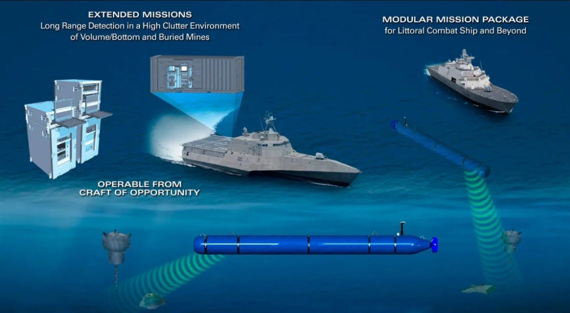 General Dynamics Mission Systems Delivers First Knifefish Surface Mine Countermeasure