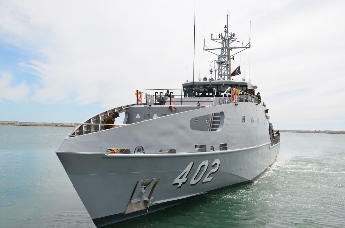 Austal Australia Delivers 9th Guardian-class Patrol Boat (GCPB) to Australian Department of Defence